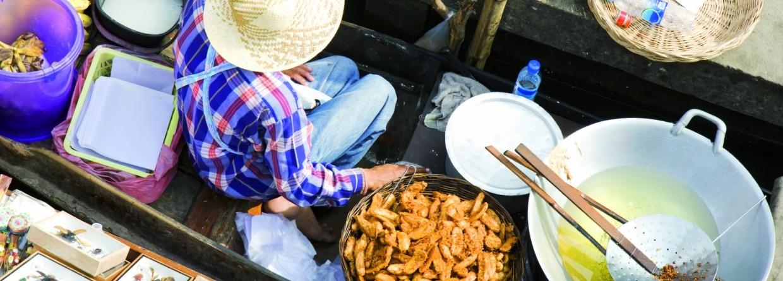Midden oosten koken op straat