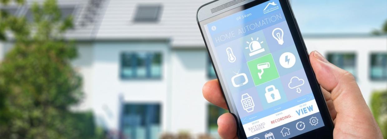 Met je mobiel je huis bedienen